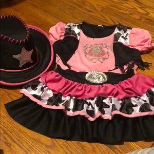 Cowgirl Costume Perfect Condition